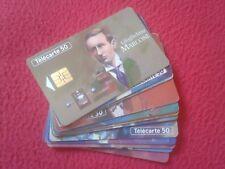 LOTE TARJETAS TELEFÓNICAS FRANCE TELECOM PHONE CARD FIGURAS TELECOMUNICACIONES