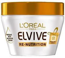 3 x L'Oreal Elvive Re-Nutrition Nourishing Masque 300mL