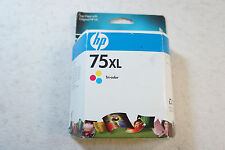 New Genuine HP 75XL Tri-Color Ink Cartridge CB338WN Sealed Box