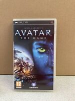 AVATAR - The Game  (Sony PSP, 2006)  with manual Free postage good condition
