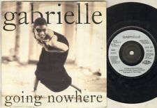 "GABRIELLE Going Nowhere  7"" Ps, B/W Portishead Mix, God 106 (Vg/Vg, Vinyl Has Li"