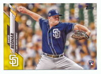 DAVID BEDNAR RC 2020 TOPPS SERIES 2 WALGREENS YELLOW PARALLEL #531 ROOKIE