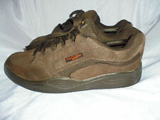 LEE COOPER MEN'S BROWN SUEDE LEATHER LACE UP TRAINERS SIZE UK 8 EU 42  VGC
