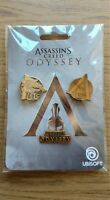 ASSASSINS CREED ODYSSEY | LIMITED EDITION METAL PIN BADGES | NEW