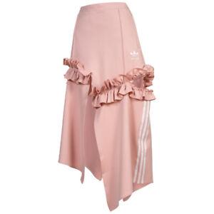 adidas Originals x J KOO Ruffle Damen Freizeit Mode Rüschen Rock FT9902 rosa neu