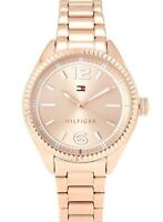 Tommy Hilfiger Women's Watch Rose Gold Orologio donna Sport Casual 1781521