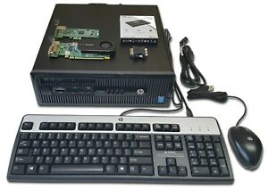New HP Windows XP/10 Retro Gaming PC -GeForce GT630, 4GB Ram, i3-4160, 240GB SSD