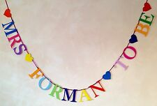 HEN PARTY BANNER PERSONALISED BACHELORETTE BUNTING (ANY NAME)