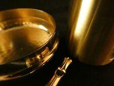 24 Karat Vergoldung Buchstaben Deluxe Schmuck Tunnel Uhren Piercing Gold