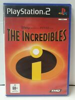PS2 The Incredibles Inc Manual
