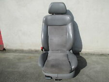 Sportsitz Fahrersitz Leder Alcantara VW Passat 3B 3BG grau Sitz