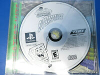 SpongeBob SquarePants: SuperSponge (Sony PlayStation 1, 2001) PS1