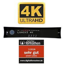 qviart Lunix3 4K 1x DVB-S2 FBC Twin E2 Linux UHD 2160p Sat Receiver