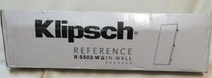 Klipsch R5502-W II In-wall speaker R-5502-W II