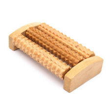 Wooden Foot Feet Roller Wood Care Massage Reflexology Relax Relief Massager Spa