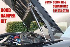 BBM 2013+ Scion FRS FR-S Subaru BRZ Toyota GT86 Hood Damper Kit (CARBON FIBER)