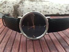 Patrick Arnaud quarz watch - stylish design -leather strap - new