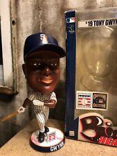 TONY GWYNN San Diego Padres MLB Cooperstown HOF EXCLUSIVE Bobblehead NIB! ~RARE~