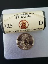 2020~D SACAGAWEA~ NATIVE AMERICAN DOLLAR ~MINT~ ROLL UNCIRCULATED ~HEADS~ TAILS~