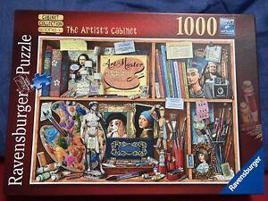 Ravensburger Artist's Cabinet 1000 Piece Jigsaw Puzzle Complete 🧩