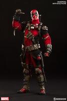 "Deadpool Wade Wilson 1/6 Marvel Comics 12"" Figur Sideshow"