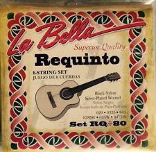 Juego De Cuadras Para Requinto Guitar Set Of Strings For Requinto Guitar. RQ-80