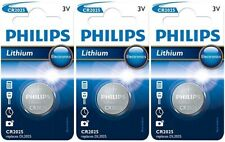 3x Philips CR2025-C1 Litihium 3V Coin Cell CR 2025 Batteries (3 Batteries)