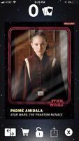 Star Wars Card Trader Padme Amidala Smugglers Den Red And Blue