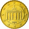 [#702195] GERMANY - FEDERAL REPUBLIC, 10 Euro Cent, 2004, AU(55-58), Brass