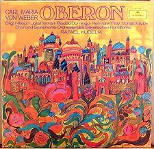 3 LP BOX DGG Weber OBERON Kubelik NILSSON Domingo PREY Grobe 2709 035