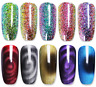7.5ml Magnet Feld Cat Eye Soak Off UV Gel Nagellack Chamäleon Holographische DIY