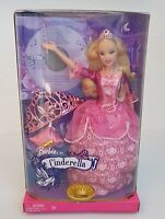 Collectable Barbie As CINDERELLA 2006 Mattel K8051 Classic Ballet CD Inc.  NIB