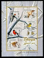 Protection of Nature. Winter Forest Birds. 2020 Circulation 700 pieces. RARE