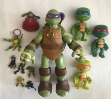 Mixed Lot of Preowned Teenage Mutant Ninja Turtles Toys & Action Figures TMNT