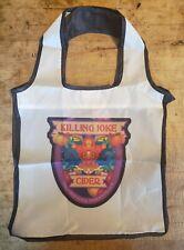 KILLING JOKE CIDER Custom Reusable Polyester Shopping Tote Bag Holds 50 lbs