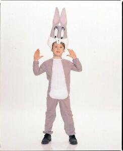 Boys Child Funny LOONEY TUNES Deluxe Bugs Bunny Costume