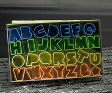 Städter 28er Set Ausstecher Ausstechform Buchstaben & Zahlen Kunststoff 2,5 cm