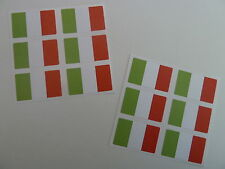 Mini Sticker Pack, Self-Adhesive Italy Flag Labels, FR14