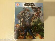 Ultimate Avengers collezione esclusiva Zavvi Steelbook BLU RAY ** NUOVO E SIGILLATO **