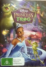 THE PRINCESS AND THE FROG-Disney Movie- Region 4-New AND Sealed
