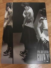 2PM - GROWN (Wooyoung) Ver.B [ORIGINAL POSTER] K-POP *NEW*