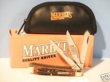 Marbles - 3 Blade Stag Trapper Pocket Knife - Model MR106 - New