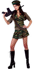 Sexy Army  Private Tease Fancy Dress Costume S M L XL