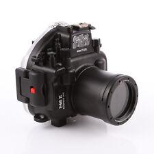 40m Waterproof Diving Underwater Housing Case fr Olympus OMD E-M5 EM5 II 12-50mm