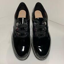 Zara Woman Womens Platform Heels Shoes Black Oxfords Lace Up EUR 37 US 6.5