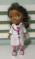 DOC MCSTUFFINS TALKING DOLL CHARACTER TOY SPEAKS 3 LANGUAGES