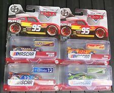 Set Of 4 Disney Pixar Cars Nascar Set Racelott BYREV Laney Logano 12 9 24 22
