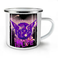 House Life Dance Music NEW Enamel Tea Mug 10 oz | Wellcoda