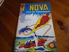 NOVA n° 34 de 1980 - SPIDER MAN - SURFER D'ARGENT - LES FANTASTIQUES comme neuf.