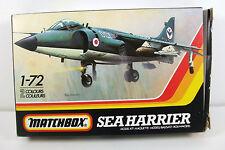 Matchbox 1:72 Sea Harrier Model Kit PK-37, Boxed, Unassembled